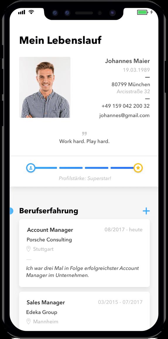 Einfach per App bewerben. Auf jeden Job. || TALENTCUBE