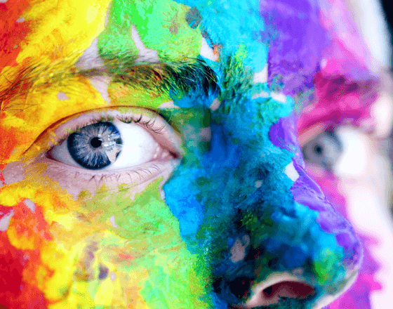 Recruiting - read our blog article about courage for a colorful resume