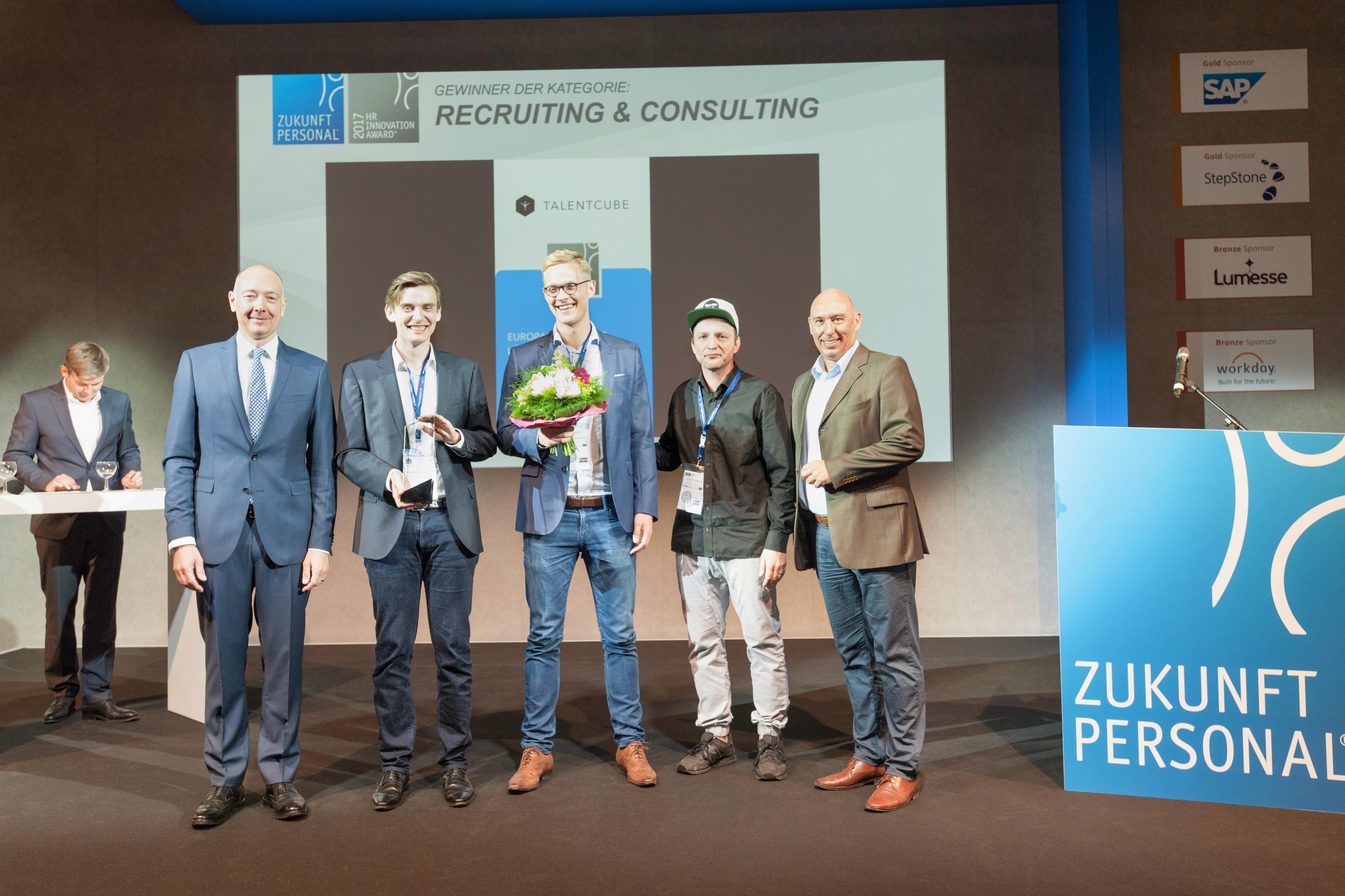 Talentcube gewinnt HR Innovation Award