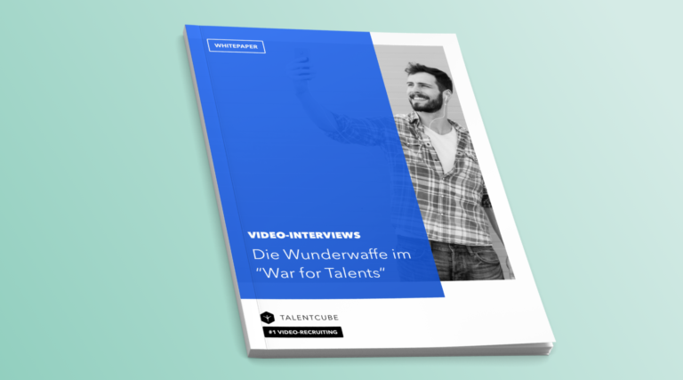"Whitepaper: Video-Interviews – Die Wunderwaffe im ""War for Talents"""
