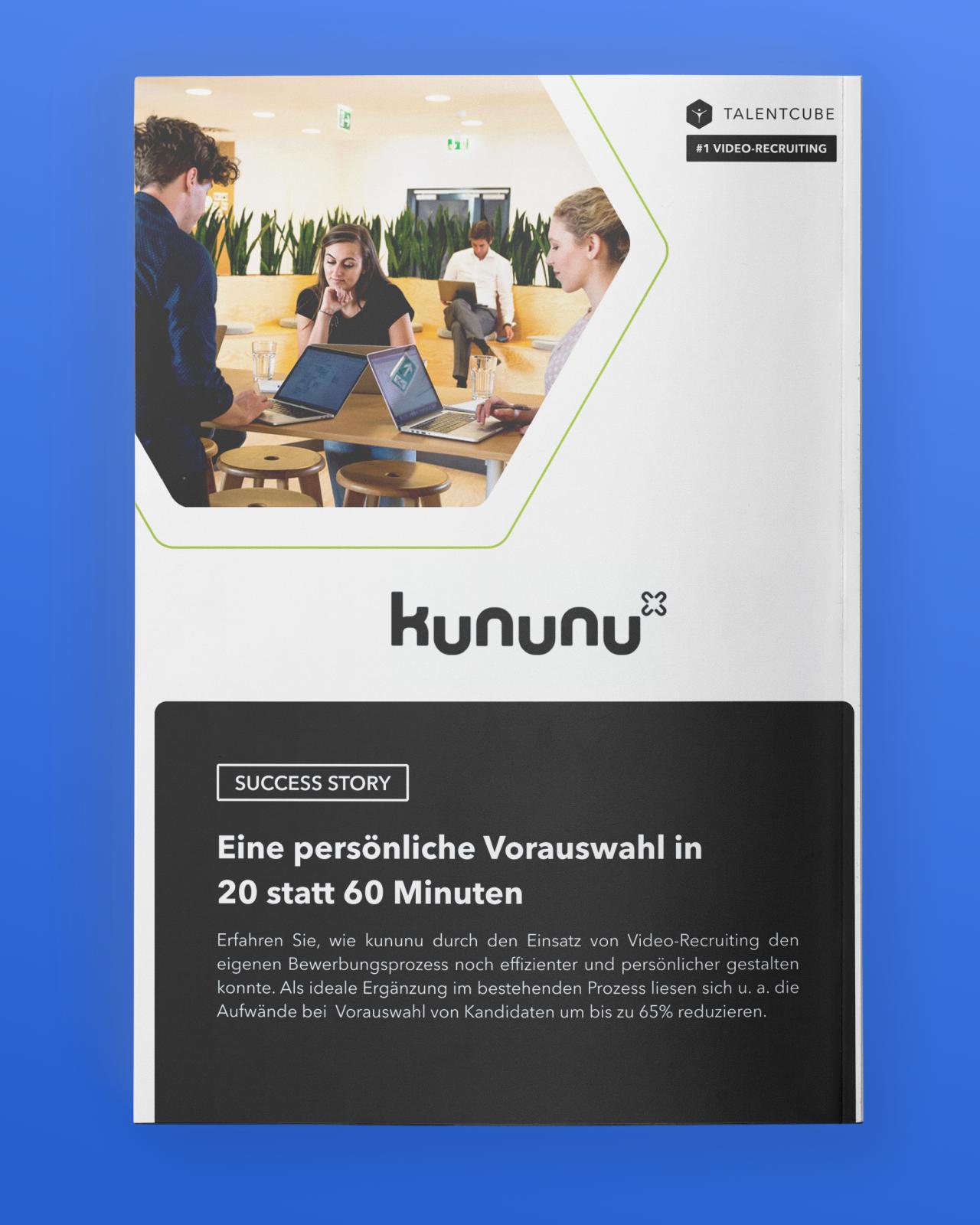 kununu – Eine persönliche Vorauswahl in  20 statt 60 Minuten