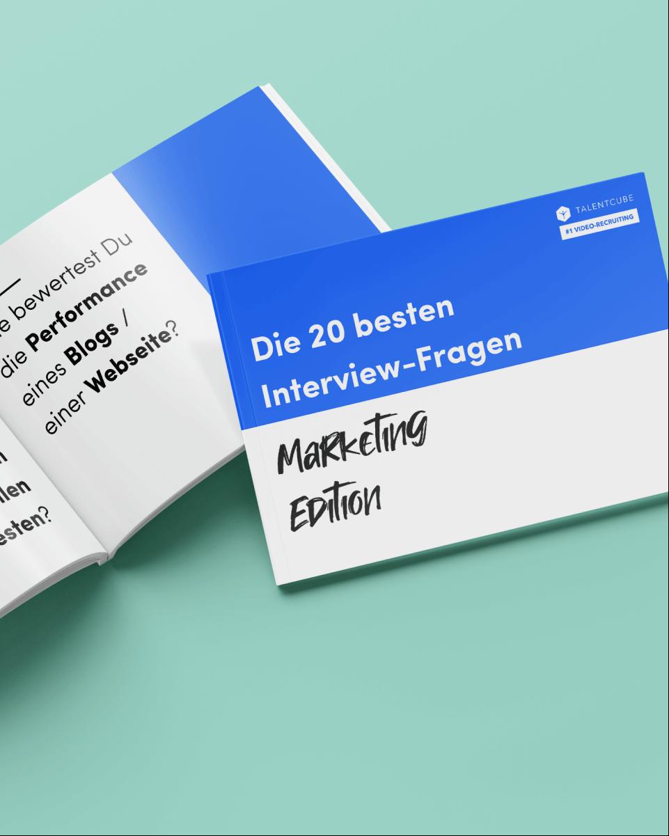 Fragenkatalog: Die 20 besten Interviewfragen – Marketing Edition
