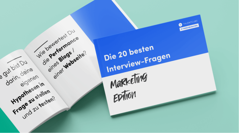 Fragenkatalog: Die 20 besten Interviewfragen – Marketing Edition