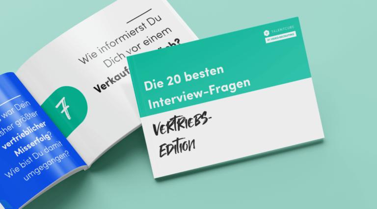 Fragenkatalog: Die 20 besten Interview-Fragen – Vertriebs-Edition