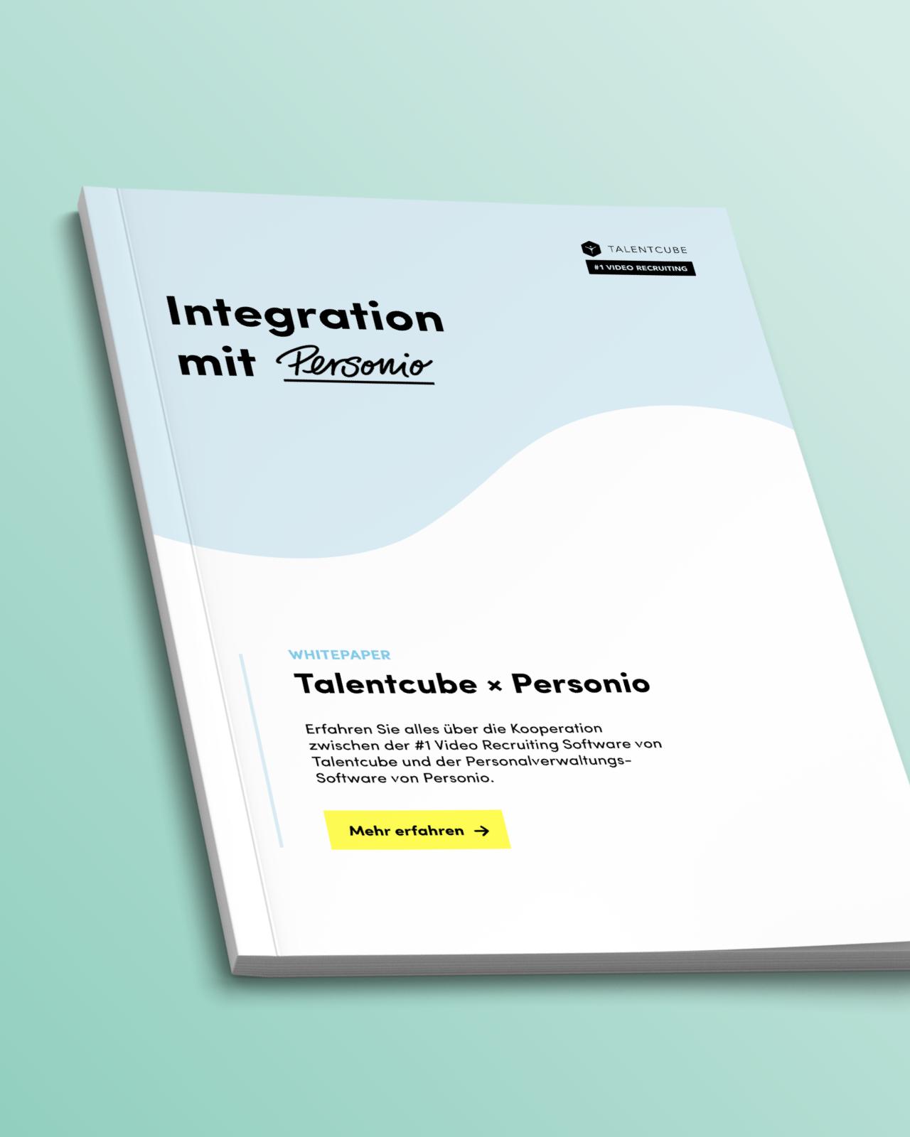 ATS Integration: Talentcube X Personio