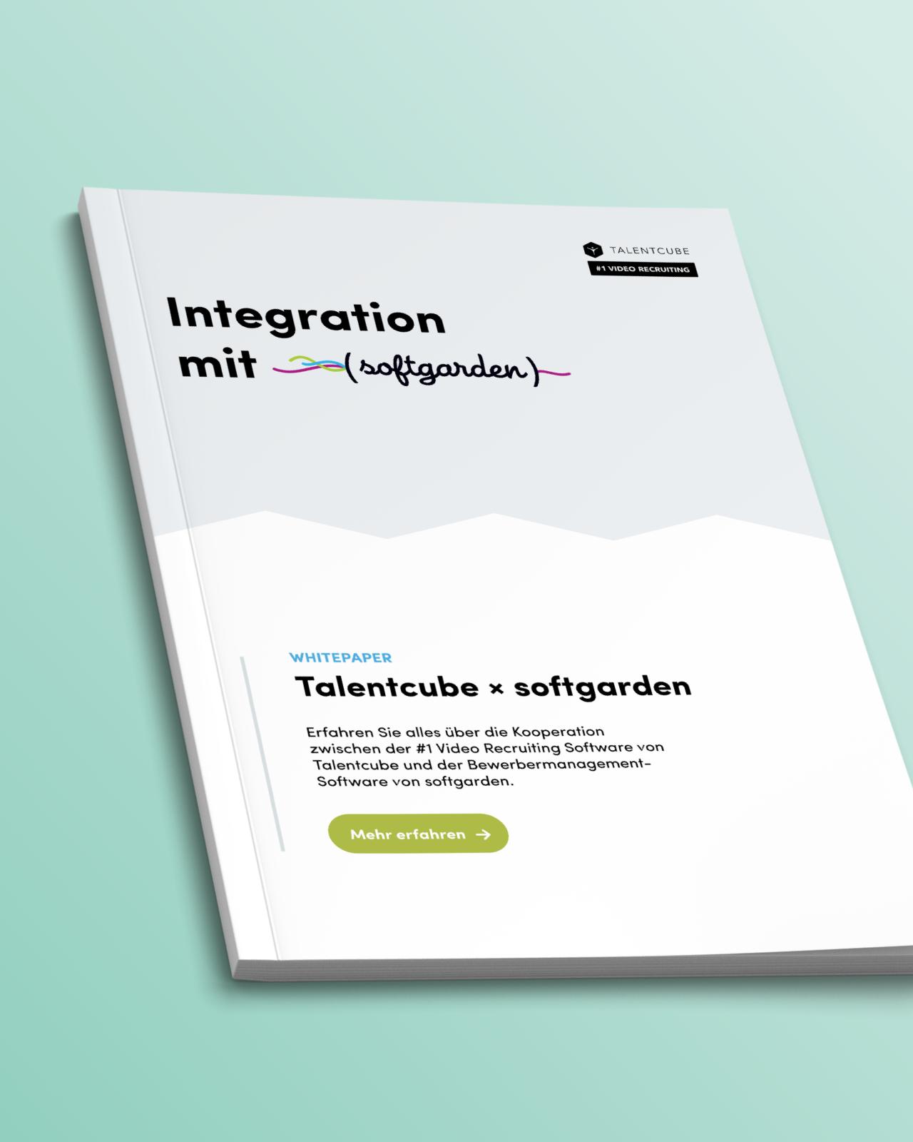 ATS Integration: Talentcube X softgarden
